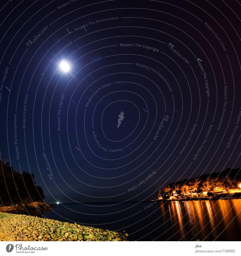 Sky Nature Water Vacation & Travel Ocean Beach Calm Landscape Movement Coast Stone Wait Stars Trip Aviation Europe