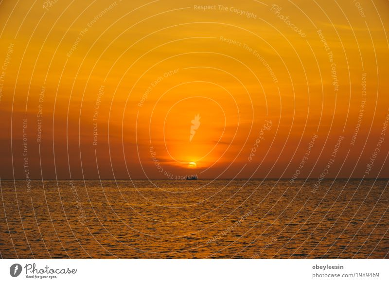 The silhouette of sunset at the beach Human being Nature Landscape Ocean Beach Lifestyle Style Art Waves Adventure Bay