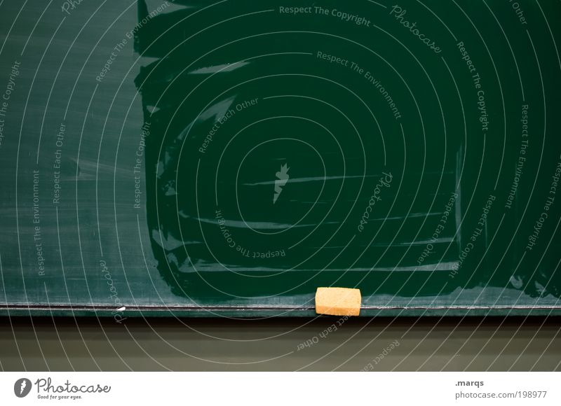 reset Education Science & Research School Study Blackboard Professional training Academic studies Sponge Fresh Clean Green Fear Fear of the future Communicate