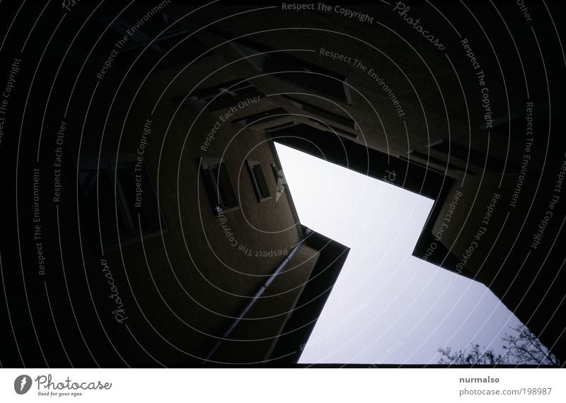 City Calm House (Residential Structure) Dark Wall (building) Window Wall (barrier) Building Fear Architecture Environment High-rise Facade Aviation Gloomy