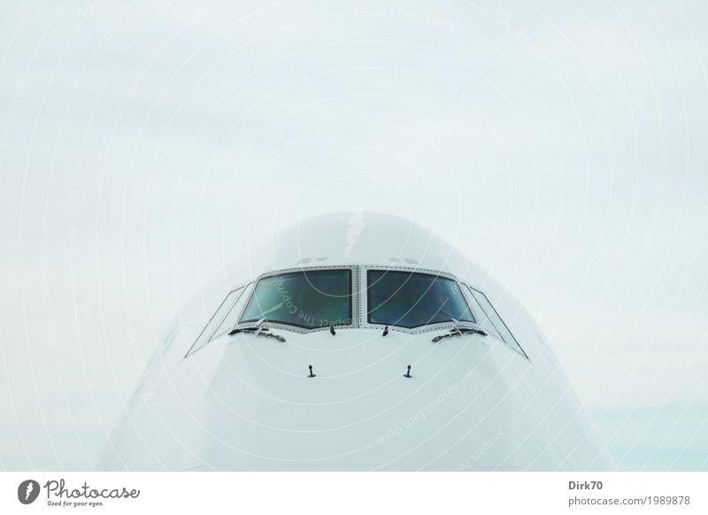 Vacation & Travel Far-off places Cold Tourism Flying Design Transport Elegant Aviation Esthetic Technology Wait Large Airplane Round Longing