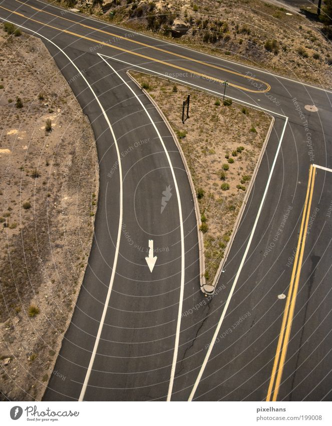 this way!!! Expedition Summer Aviation Environment Landscape Tree Grass Bushes Hill Rock Desert Deserted Manmade structures Transport Traffic infrastructure