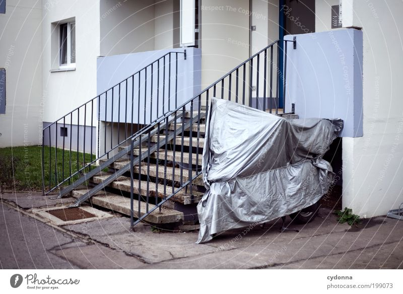 [HAL] Put under protection Lifestyle Design Leisure and hobbies Living or residing Environment Town Architecture Wall (barrier) Wall (building) Stairs Facade