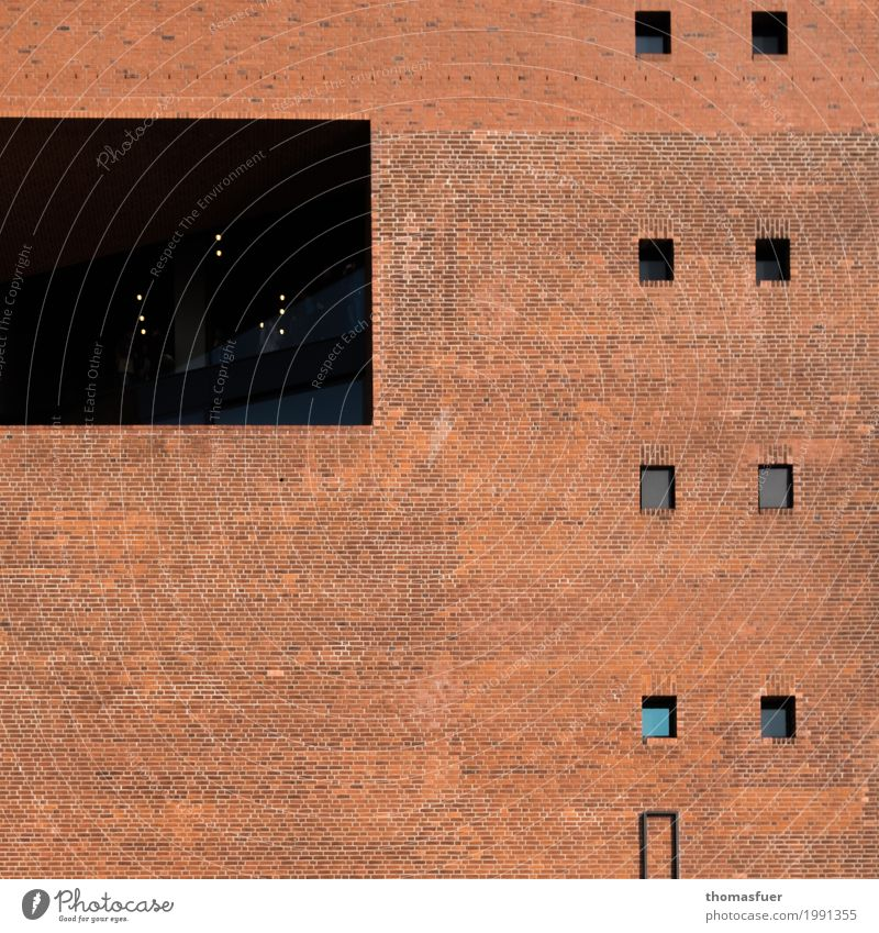 Town Window Architecture Wall (building) Wall (barrier) Art Stone Tourism Facade High-rise Culture Hamburg Manmade structures Tourist Attraction Landmark