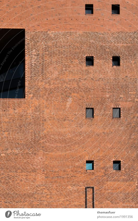 Wall, Window Tourism City trip Concert Hall Berlin Concert House Hamburg Germany Europe Port City Downtown House (Residential Structure) High-rise