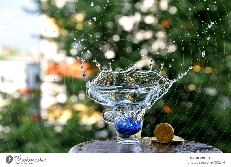 outburst Cold drink Glass Style Design Wellness Life Relaxation Event Water Summer Elegant Free Euphoria Beautiful Esthetic Joie de vivre (Vitality) Ease