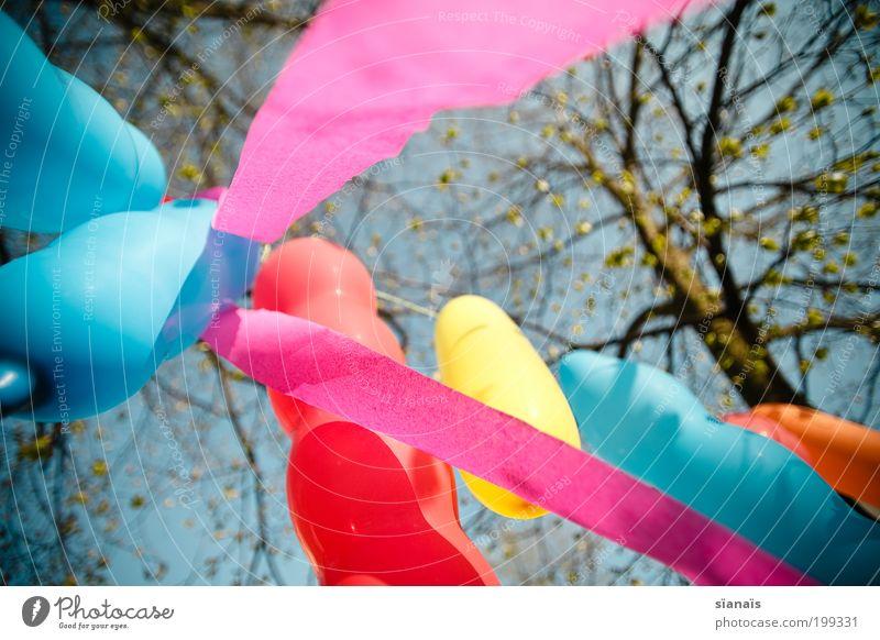 children's birthday party Feasts & Celebrations Birthday Hang Moody Joy Happiness Joie de vivre (Vitality) Balloon Hot Air Balloon Decoration Paper chain