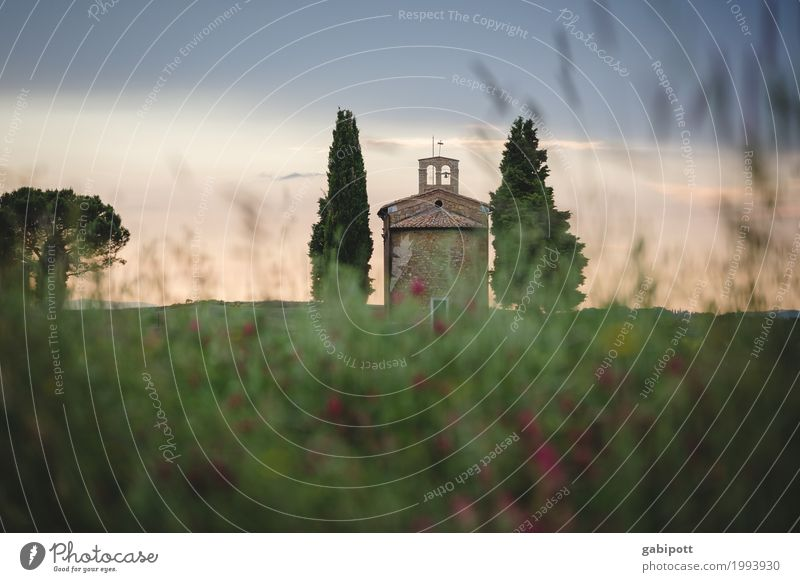 Vitaleta Chapel, Val d'Orcia, Tuscany, Italy Life Harmonious Well-being Contentment Senses Relaxation Calm Fragrance Vacation & Travel Tourism Trip