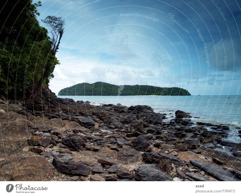 island Vacation & Travel Tourism Nature Landscape Sky Warmth Island Joy Cool (slang) Colour photo Exterior shot Deserted Day Looking into the camera