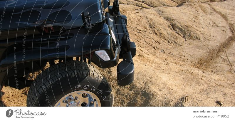Dirty Transport Earth Flame Dust Chrome Territory Wheel rim Offroad vehicle Airbrush painting