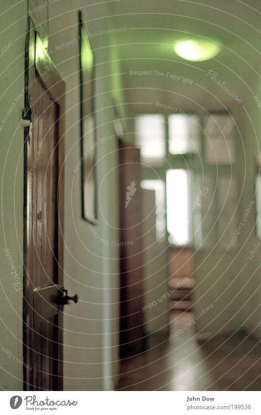 Old Loneliness Room Flat (apartment) Door Retro Open Living or residing Historic Hallway Door handle Corridor Passage Old building Undo