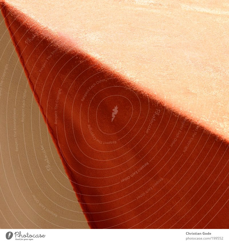 peak Red Geometry Table edge Triangle Edge Light Shadow Corner Colour photo Multicoloured Exterior shot Deserted Copy Space left Copy Space right Copy Space top