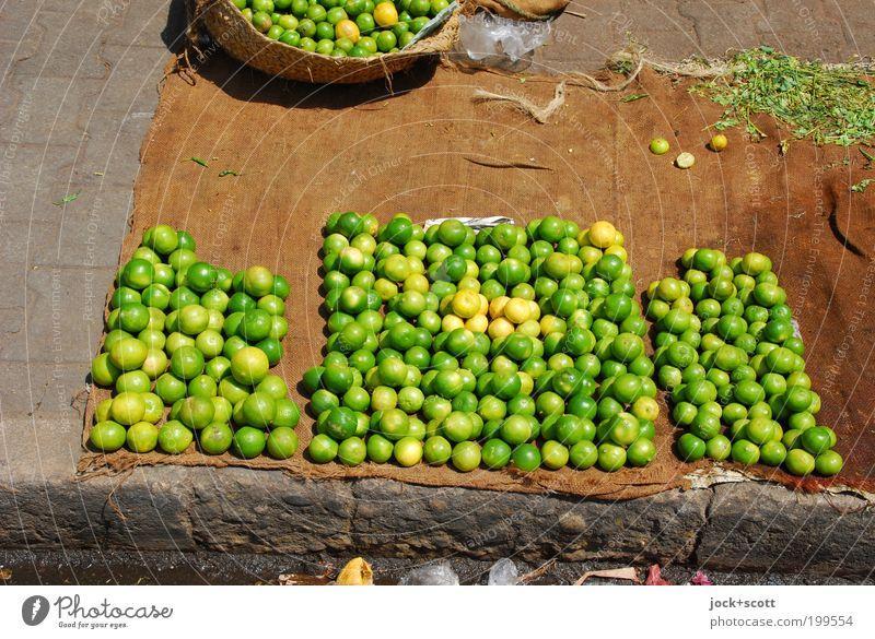 Fair trade Green Yellow Lanes & trails Bright Food Lie Arrangement Fruit Fresh Corner Simple Round Many Pure Sidewalk Africa