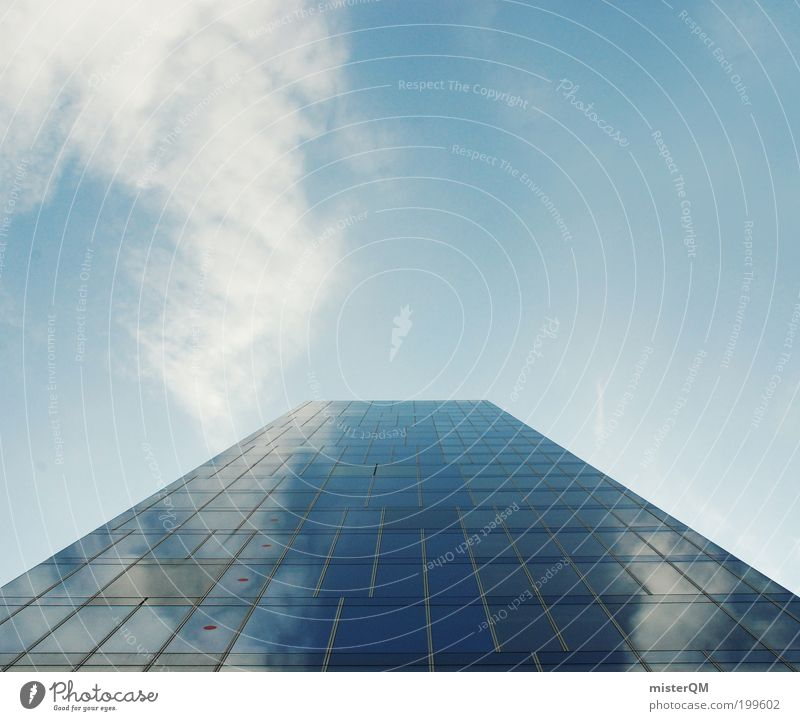 Sky Blue Far-off places Architecture Work and employment Facade High-rise Esthetic Growth Future Might Financial institution Bank building Skyline Luxury