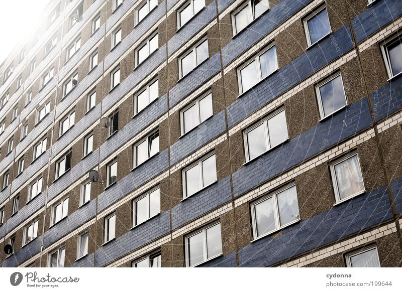 [HAL] Window to the world Lifestyle Style Design Living or residing Town House (Residential Structure) Architecture Facade Education Loneliness Society Boredom