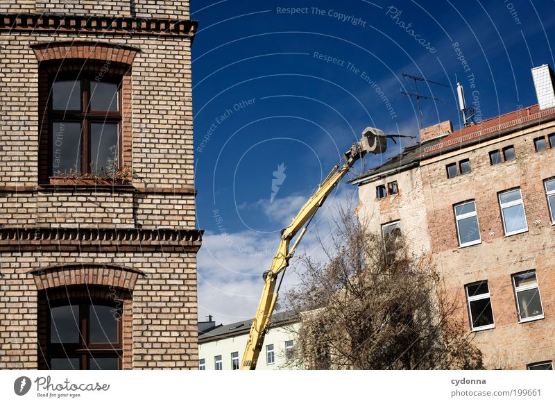 [HAL] New Beginning Living or residing Construction site Sky Town Old town House (Residential Structure) Ruin Architecture Wall (barrier) Wall (building) Facade