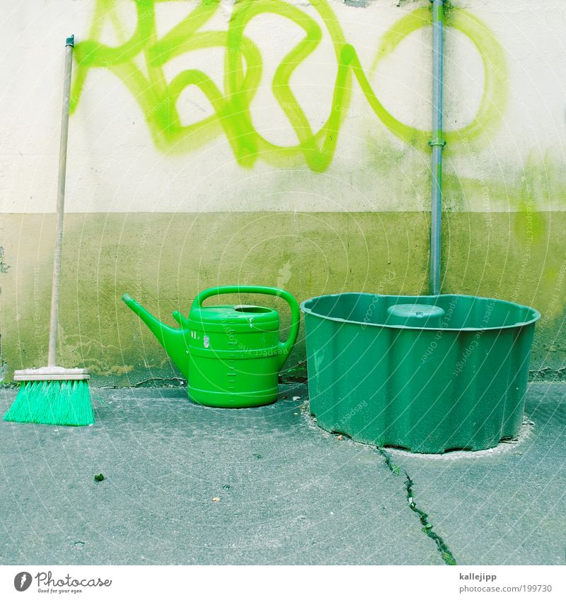 Green House (Residential Structure) Work and employment Meadow Spring Garden Graffiti Lifestyle Leisure and hobbies Profession Living or residing Cleaning