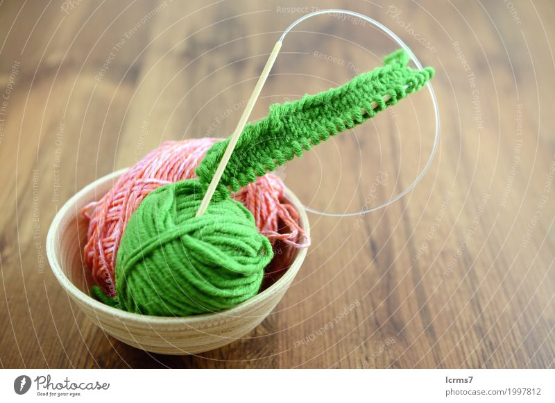 knit needles and wool on table Leisure and hobbies Warmth Fashion Wool Knit Creativity creased yarn handmade The Needles Background picture woolen thread craft