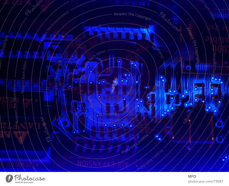 Dark Technology 2 Circuit board Computer Semiconductor Blank layout Circuit diagram Electrical equipment Electronics Microchip Conceptual design