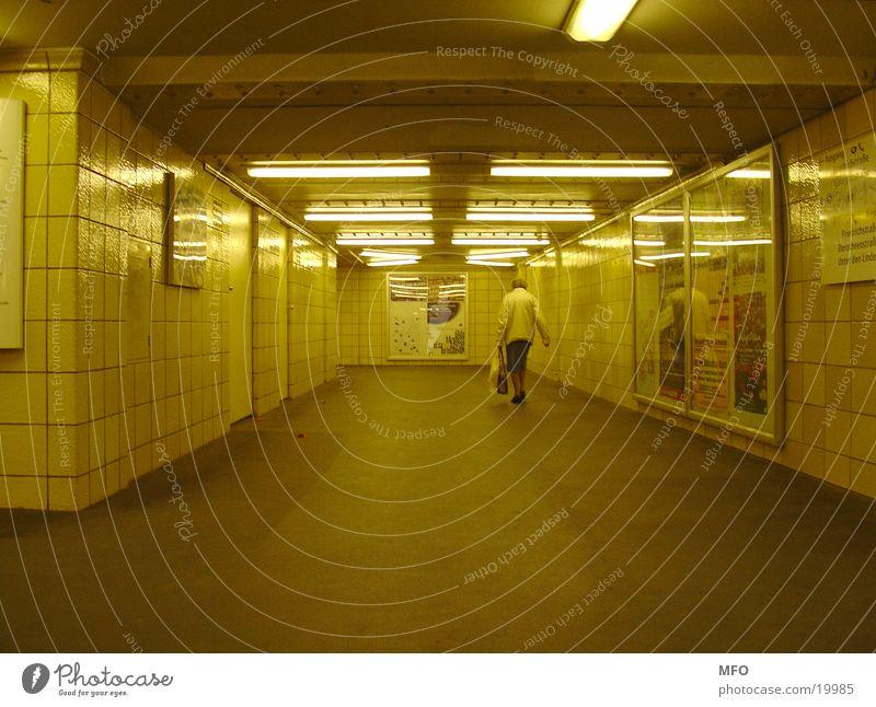 Berlin Senior citizen Architecture Underground Tunnel Female senior London Underground