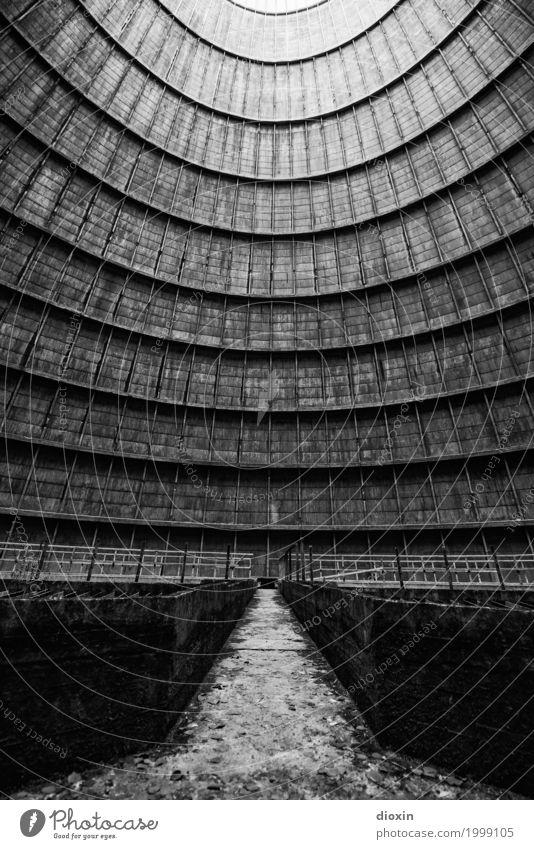 inside the cooling tower [14] Energy industry Nuclear Power Plant Coal power station Energy crisis Industry Industrial plant Factory Tower Manmade structures