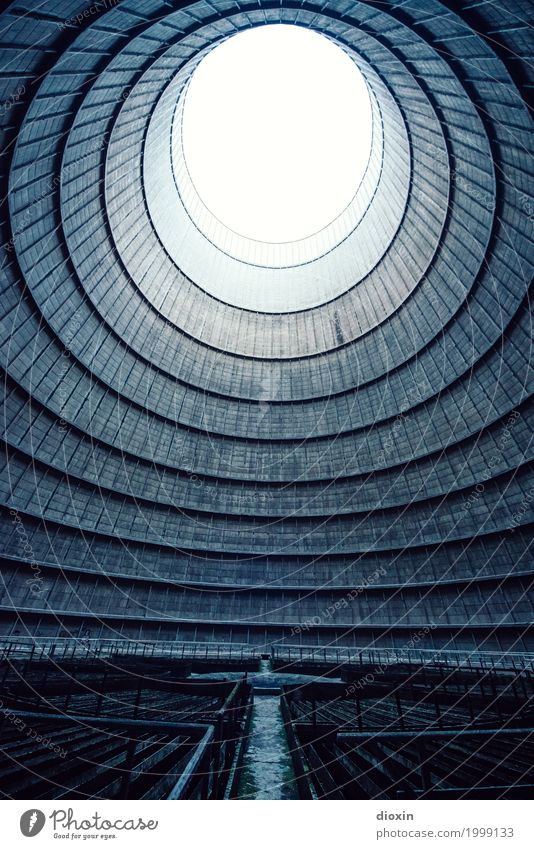 inside the cooling tower [12] Energy industry Nuclear Power Plant Coal power station Energy crisis Deserted Tower Manmade structures Architecture Cooling tower