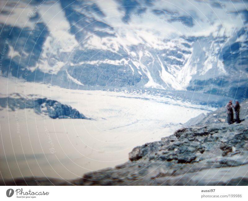 S.P.E.C.T.R.E. Mountain Snow Volcano Glacier Trip Descent Go up base camp Volcanic crater Landscape Winter Hiking Lanes & trails Nature