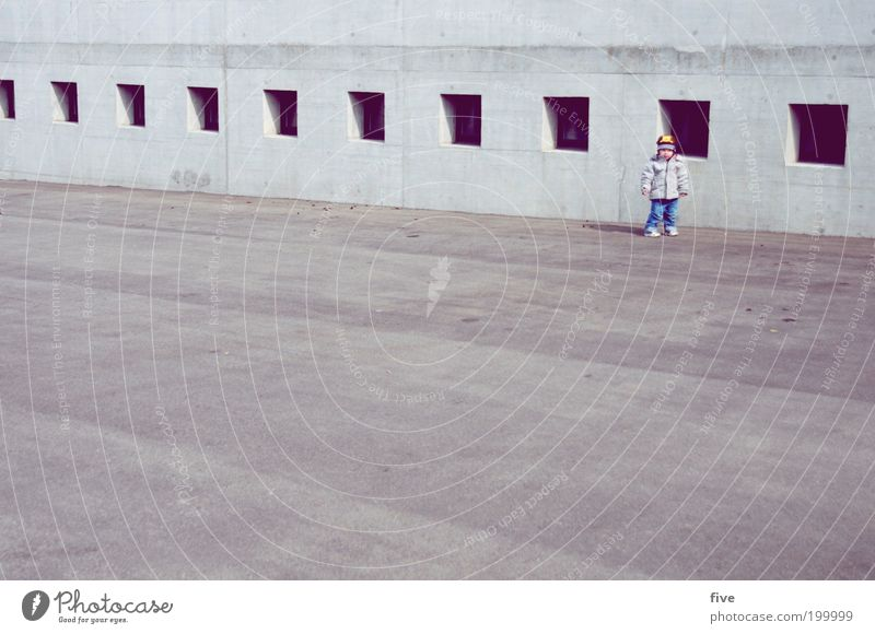 Human being Child Joy Window Wall (building) Playing Boy (child) Happy Wall (barrier) Infancy Contentment Leisure and hobbies Masculine Stand Toddler Row
