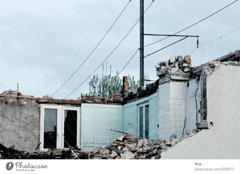 Old House (Residential Structure) Window Wall (building) Wall (barrier) Flat (apartment) Facade Interior design Broken Living or residing Trash Village