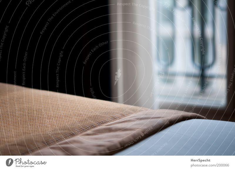 White Black Window Brown Bed Interior design Cloth Wrinkles Furniture Drape Blanket Section of image Bedroom Duvet Blur Room