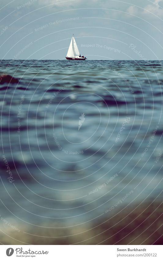 Water Ocean Summer Vacation & Travel Sports Freedom Waves Coast Wind Environment Horizon Adventure Sailing Navigation Baltic Sea Watercraft