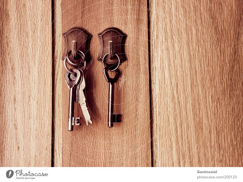locksmith Living or residing Brown Safety Key service Checkmark Hallway key board Panels Old fashioned keyboard Suspended House key Admission Wood grain