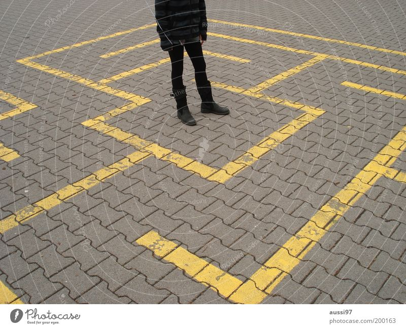 Youth (Young adults) Girl Lanes & trails Conduct Direction Captured Paving stone Decision Maze Decide Places Resume Labyrinth Puberty Schoolyard Horticulture