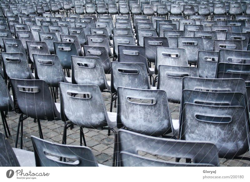 Loneliness Calm Europe Italy Chair Longing Belief Attachment Row Loyalty Row of seats Lecture hall Hall Vatican