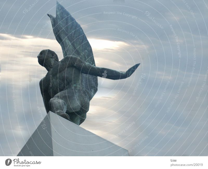 Beautiful Sky Craft (trade) Dramatic Production Bronze angel
