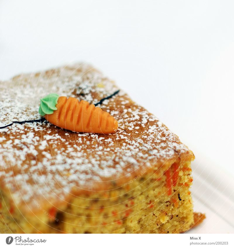 Orange Food Nutrition Sweet Candy Delicious Cake Section of image Partially visible Juicy Baked goods Isolated Image Vegetable Dough Carrot Vegetarian diet