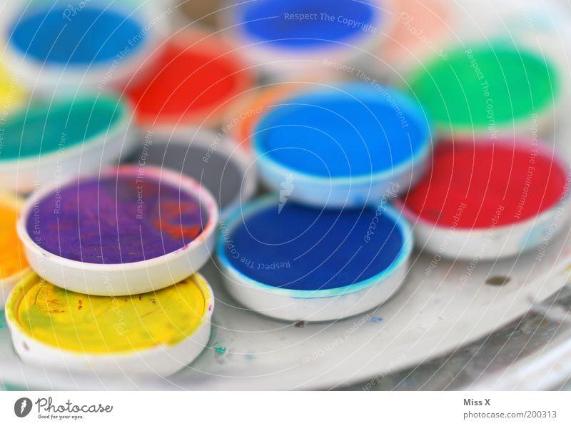 Creative for Father's Day Leisure and hobbies Handicraft Art Artist Painter Wet Round Colour Infancy Creativity Paintbox Colour pot Painting (action, artwork)