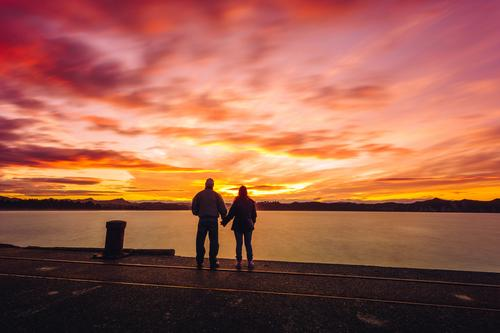 Romantic Sunset Lifestyle Joy Wellness Harmonious Well-being Contentment Meditation Vacation & Travel Trip Adventure Far-off places Freedom Summer vacation