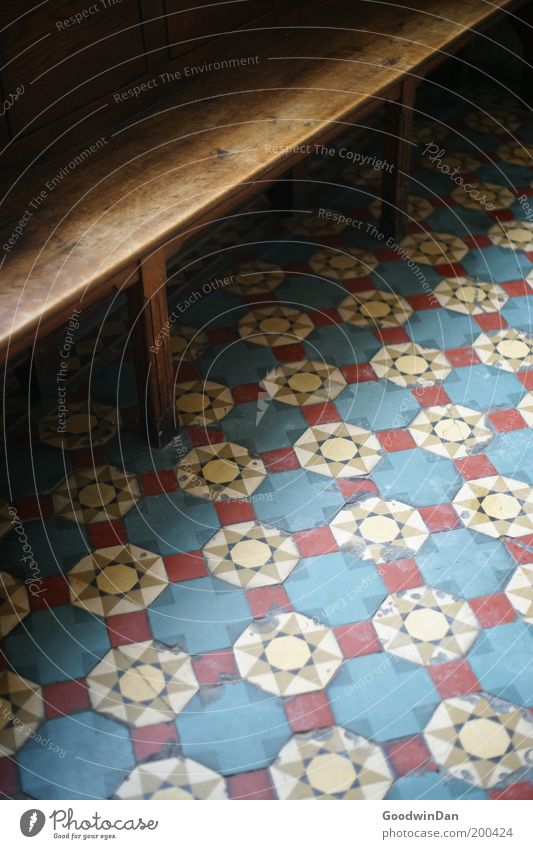Beautiful Cold Religion and faith Church Bench Floor covering Furniture Sharp-edged Mosaic Building