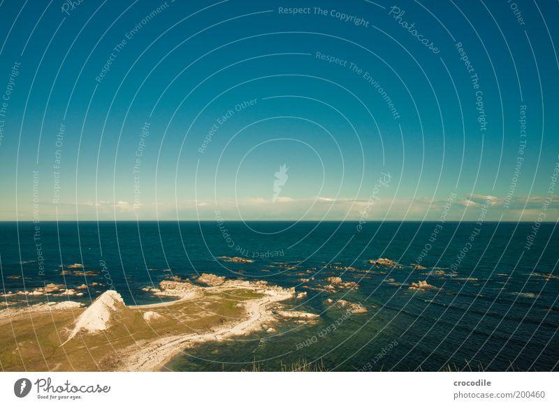 Sky Nature Blue Beautiful Ocean Beach Clouds Environment Landscape Movement Coast Air Contentment Waves Rock Esthetic
