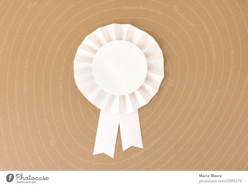 Excellent Bow Feasts & Celebrations Esthetic Success Historic Positive Brown White Power Competition Pure Quality Rosette Symbols and metaphors Award ceremony