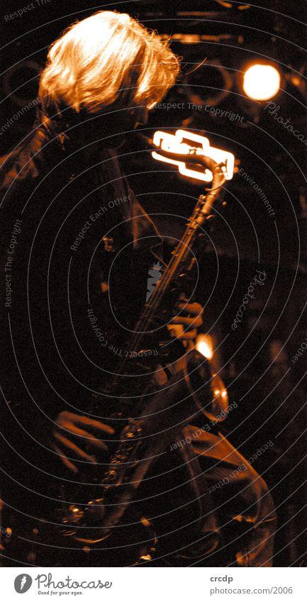 saxophonist Man Saxophone Human being Music Musician