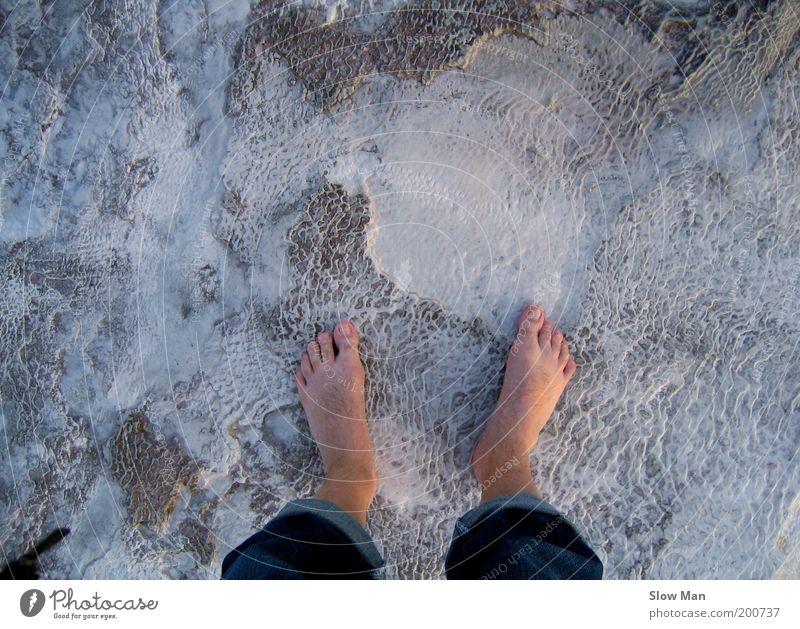 Beach Winter Cold Snow Feet Ice Earth Going Stand Frost Frozen Freeze Barefoot Pedestrian Illness Subsoil