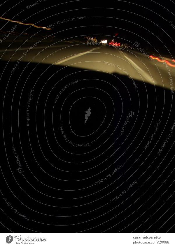 Black Street Movement Car Transport Speed
