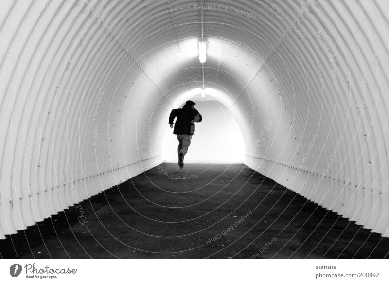 Fear Walking Speed Hope Individual Simple Running Pipe Stress Tunnel Fear of the future Distress Concern Escape Haste Panic