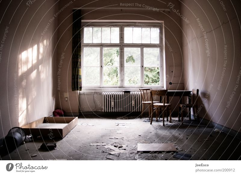 Dark Cold Window Dirty Flat (apartment) Poverty Gloomy Broken Simple Living or residing Interior design Derelict Decline Trashy Living room
