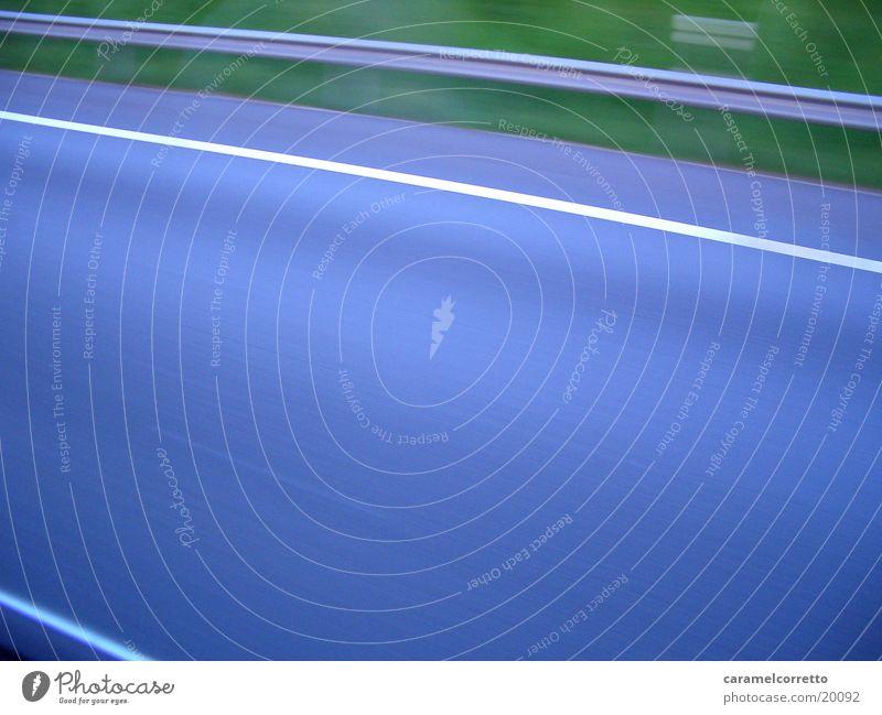 Blue Street Transport Speed Highway Curb Crash barrier Lane markings