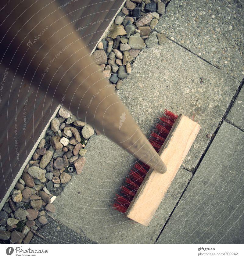 Garden Stone Arrangement Break Clean Living or residing Cleaning Services Sidewalk Work and employment Bird's-eye view Gardening Diligent Pebble Broom