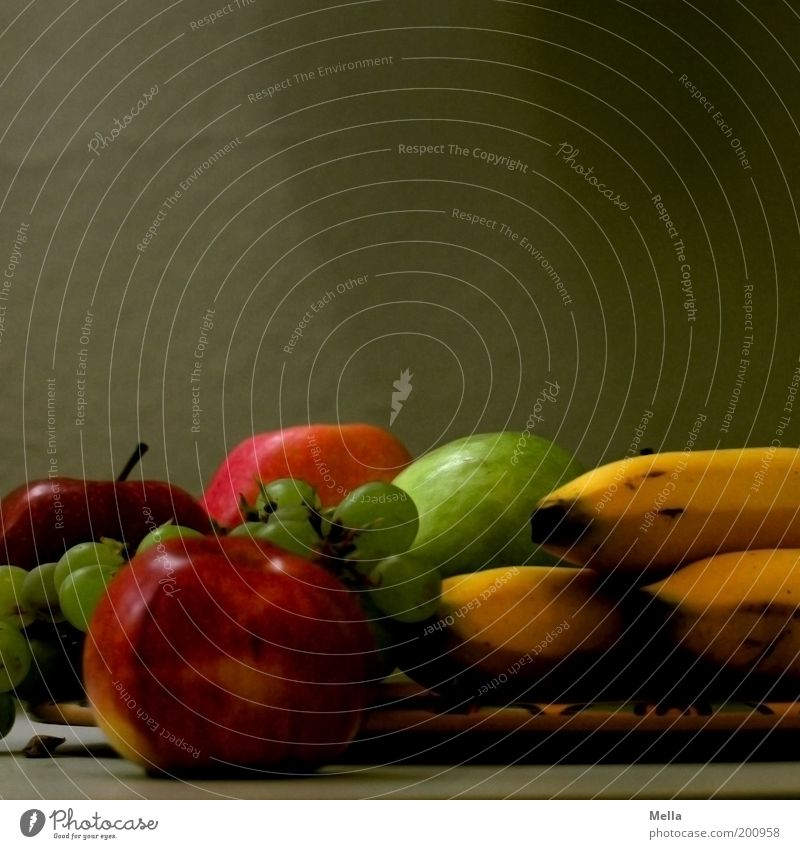 Nutrition Style Healthy Art Food Fruit Esthetic Lie Apple Delicious Still Life Plate Vitamin Organic produce Juicy Banana