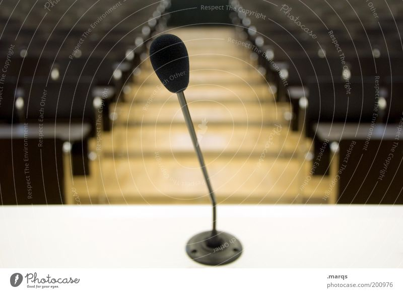 Fear Academic studies Empty Might Communicate Target Education Meeting Event Fear of the future Speech Microphone Assembly Politics and state Crisis